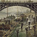 The Coalmen  by Claude Monet