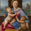 The Garvagh Madonna  by Raphael