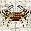 4th Of July Crab by Charles Harden