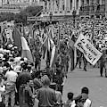 60th Anniversary Of Russian Socialist October Revolution by Venancio Diaz