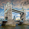 London Tower Bridge by Anthony Dezenzio