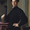 Portrait Of A Young Man  by Bronzino