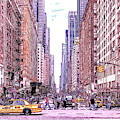 6th Avenue And Central Park South, Manhattan  - Dwp185352 by Dean Wittle