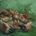 A Crab On Its Back  by Vincent van Gogh