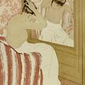 The Coiffure by Mary Cassatt