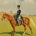 The Hussar by Frederic Remington