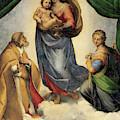 The Sistine Madonna by Raphael
