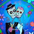 Wedding Dia De Los Muertos by Pristine Cartera Turkus