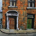 775 Decaying Elegance In The Liberties, Dublin by Val Byrne