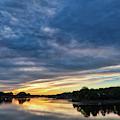 Danvers River Sunset by Scott Hufford