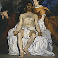 The Dead Christ With Angels by Edouard Manet