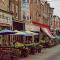9th Street Italian Maket In South Philadelphia by Bill Cannon