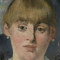 A Bar At The Folies-bergere, Detail by Edouard Manet