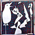 A Bird Hunting Birds 3 by Artist Dot