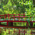 A Bridge Over The Gators. by Minnetta Heidbrink