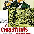 A Christmas Carol Movie Poster 1938 by Joy McKenzie