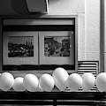 A Dozen White Balloons At 107 by Mary Lee Dereske