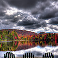 A Fall Day On West Lake by David Patterson