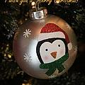 A Merry Christmas Greeting by Dora Sofia Caputo Photographic Design and Fine Art