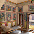 A Room In A Haveli,rajasthan by Usha Peddamatham