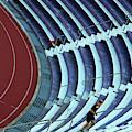 A Stadium Workout by Cora Wandel