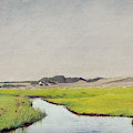 A Stream At Springtime by Laurits Andersen Ring