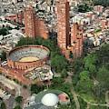 A View Of Downtown Bogota by Julian Medina Ronga