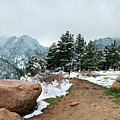 A Winter's Day In The Flatirons by Marilyn Hunt