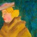 A Woman In A Fur by Edgeworth DotBlog