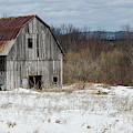 Abandoned Barn In Spring by Rob Huntley