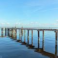 Abandoned Dock by John Zawacki