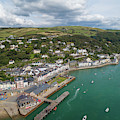 Aberdyfi From The Air by Keith Morris