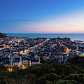 Aberyswyth At Night May 2019 by Keith Morris