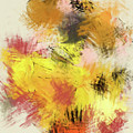 Abstract Blooms - Dwp2029903 by Dean Wittle
