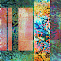 Abstract Coral Reef by Sandra Selle Rodriguez