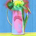 Abstract Floral Art 377 by Miss Pet Sitter