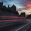 Abstract Hwy 60 Canyon Near Superior Arizona by Dave Dilli