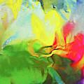 Abstract In Full Bloom by Regina Geoghan