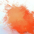 Abstract In Orange 2 - Dwp215490 by Dean Wittle
