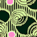 Abstract Pattern 1-colour 17 by Katerina Stamatelos
