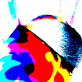 Abstract Rainbow Light 6b by Artist Dot