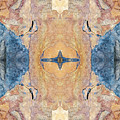 Abstract Stone Pattern by Christina Rollo
