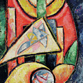 Abstraction, 1912-13  by Marsden Hartley