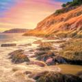 Acadia National Park Sand Beach by Dan Sproul