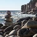 Acadia Rocks by Karin Pinkham