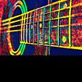 Acoustic Guitar Musician Player Metal Rock Music Color by Super Katillz