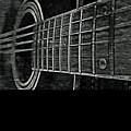 Acoustic Guitar Musician Player Metal Rock Music Strings by Super Katillz