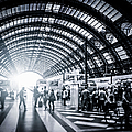 Activity In Milan Central Station, Italy by Cirano83