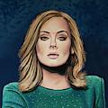 Adele Painting 3 by Paul Meijering