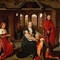 Adoration Of The Kings by Hans Memling